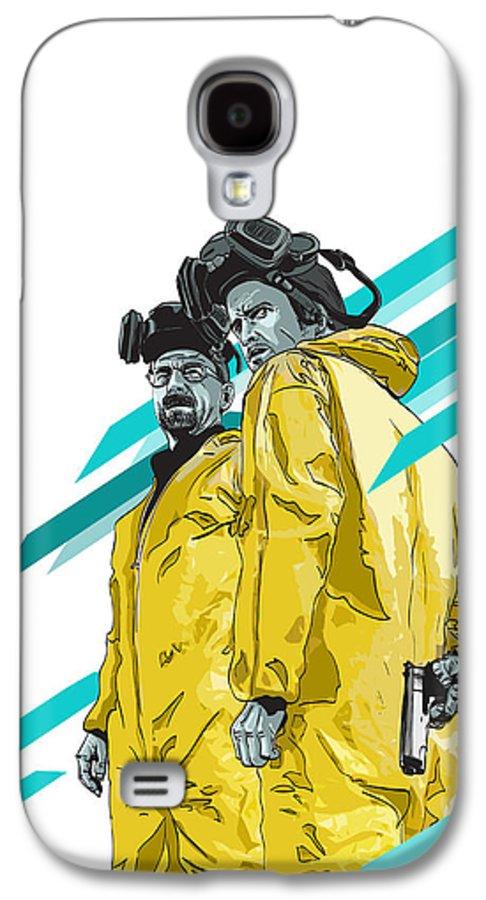 Digital Galaxy S4 Case featuring the digital art Breaking Bad by Jeremy Scott