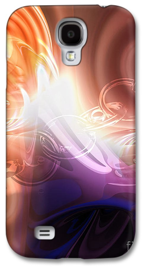 Breakthrough Galaxy S4 Case featuring the digital art Breakthrough by Mo T