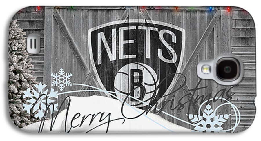 Nets Galaxy S4 Case featuring the photograph Brooklyn Nets by Joe Hamilton
