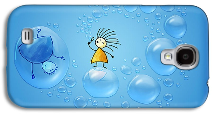 Living Galaxy S4 Case featuring the photograph Bubble Folks by Gianfranco Weiss