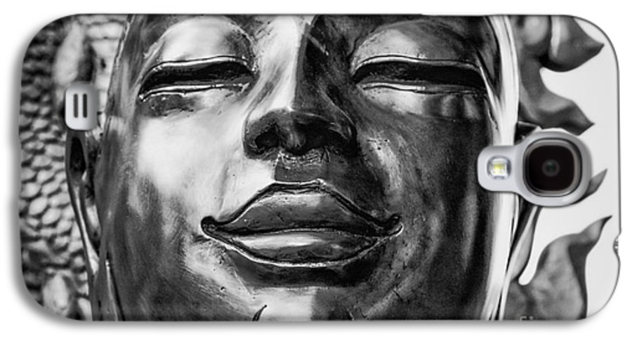 Buddha Galaxy S4 Case featuring the photograph Buddha Smile by Dean Harte
