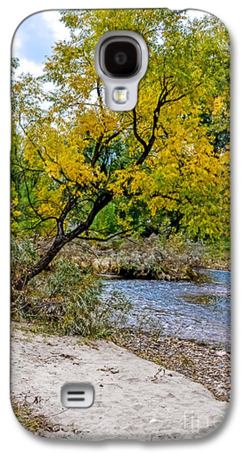 Fall Galaxy S4 Case featuring the photograph Cache La Poudre by Baywest Imaging