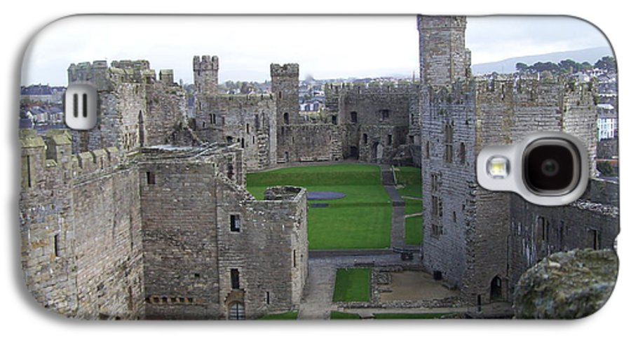 Castles Galaxy S4 Case featuring the photograph Caernarfon Castle by Christopher Rowlands