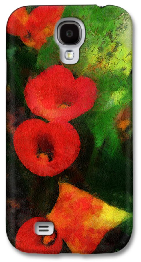 Calla Galaxy S4 Case featuring the photograph Calla Lilies Photo Art 03 by Thomas Woolworth