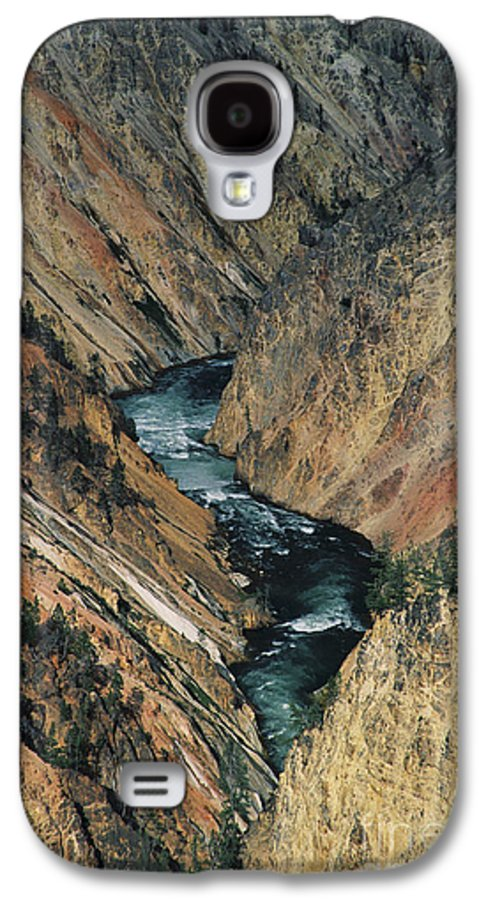 Yellowstone Galaxy S4 Case featuring the photograph Canyon Jewel by Kathy McClure