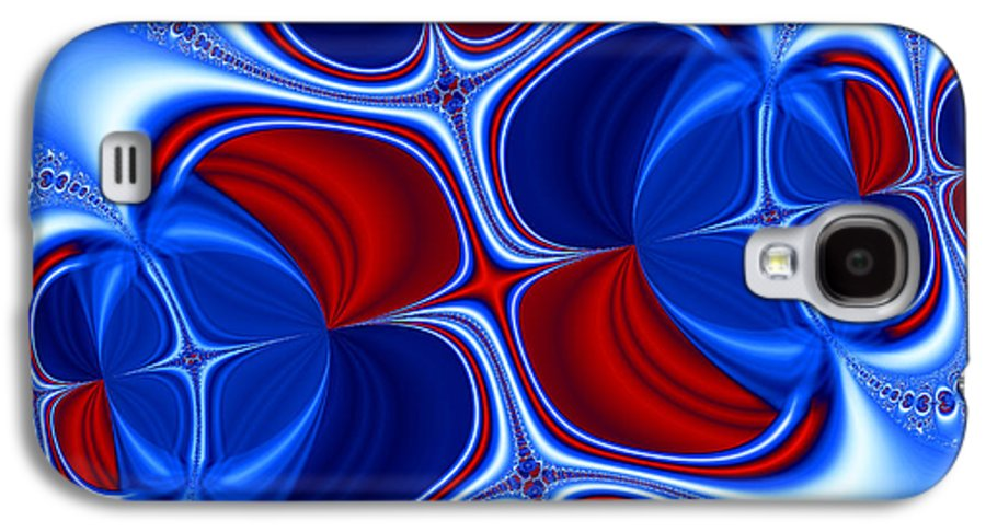 Abstract Galaxy S4 Case featuring the photograph Changing Places by Ian Mitchell