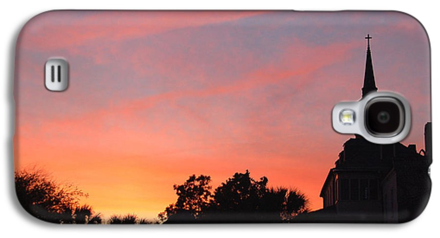 Charleston Galaxy S4 Case featuring the photograph Charleston At Dusk by Suzanne Gaff
