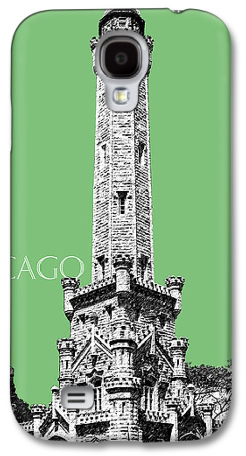 Architecture Galaxy S4 Case featuring the digital art Chicago Water Tower - Apple by DB Artist