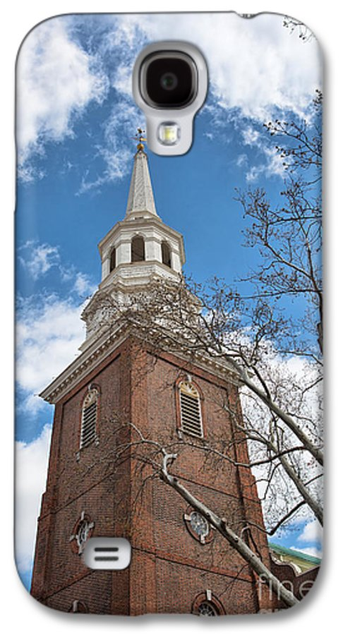Philadelphia Galaxy S4 Case featuring the photograph Christ Church Steeple by Kay Pickens