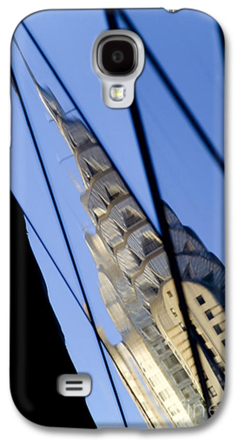 Chrysler Galaxy S4 Case featuring the photograph Chrysler Building by Tony Cordoza
