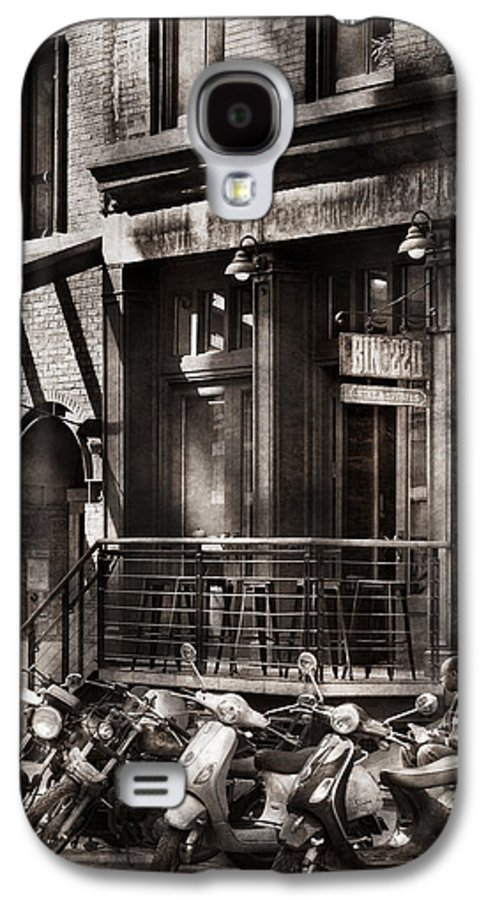 Ny Galaxy S4 Case featuring the photograph City - South Street Seaport - Bingo 220 by Mike Savad