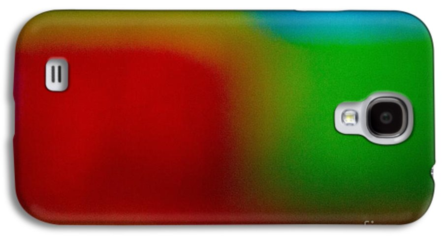 Abstract Galaxy S4 Case featuring the pastel Color Me Happy by Imani Morales