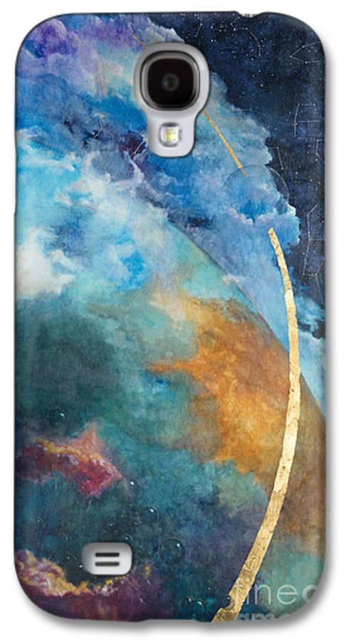 Sky Galaxy S4 Case featuring the painting Constellations by Cheryl Myrbo