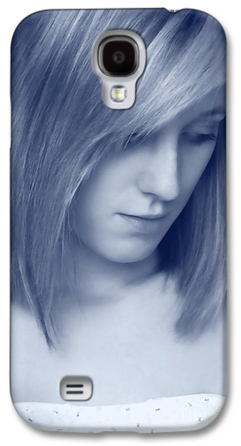 Woman Galaxy S4 Case featuring the photograph Contemplative by Amanda Elwell