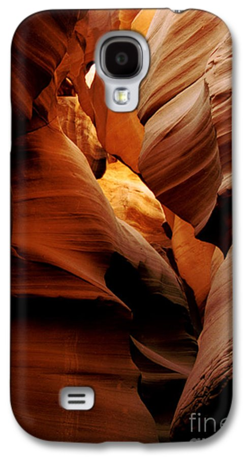Antelope Canyon Galaxy S4 Case featuring the photograph Convolusions by Kathy McClure
