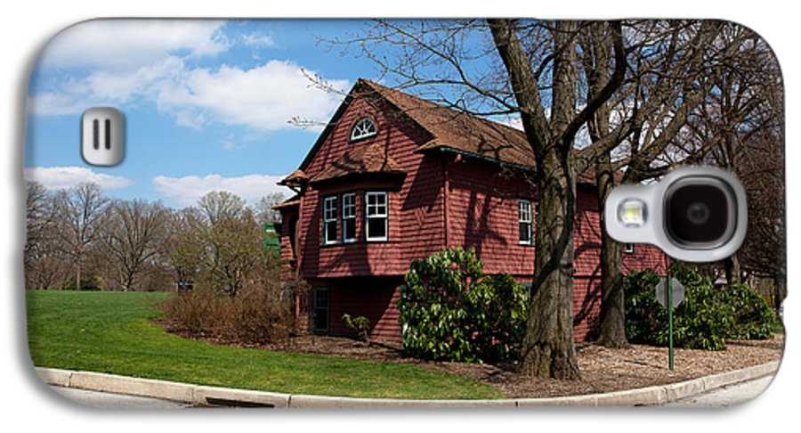 Haverford Galaxy S4 Case featuring the photograph Cricket Building At Haverford College by Kay Pickens