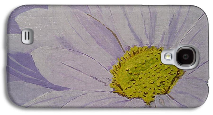 Daisy Galaxy S4 Case featuring the painting Daisy by Anthony Dunphy