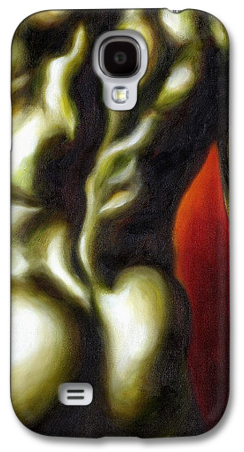 Man Nude Painting Galaxy S4 Case featuring the painting Dancer Two by Hiroko Sakai