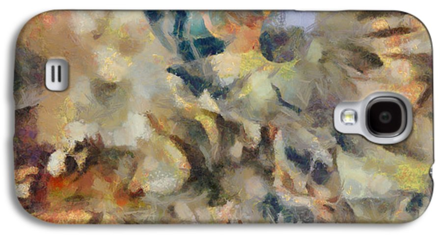 Www.themidnightstreets.net Galaxy S4 Case featuring the digital art Dancing Dreams by Joe Misrasi