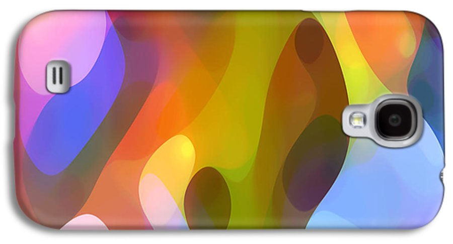 Abstract Art Galaxy S4 Case featuring the painting Dappled Art 8 by Amy Vangsgard