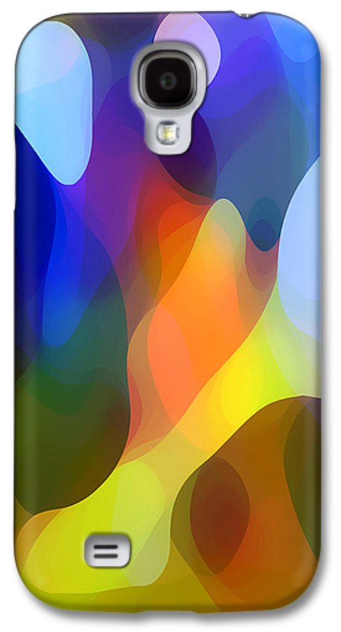 Abstract Art Galaxy S4 Case featuring the painting Dappled Light by Amy Vangsgard