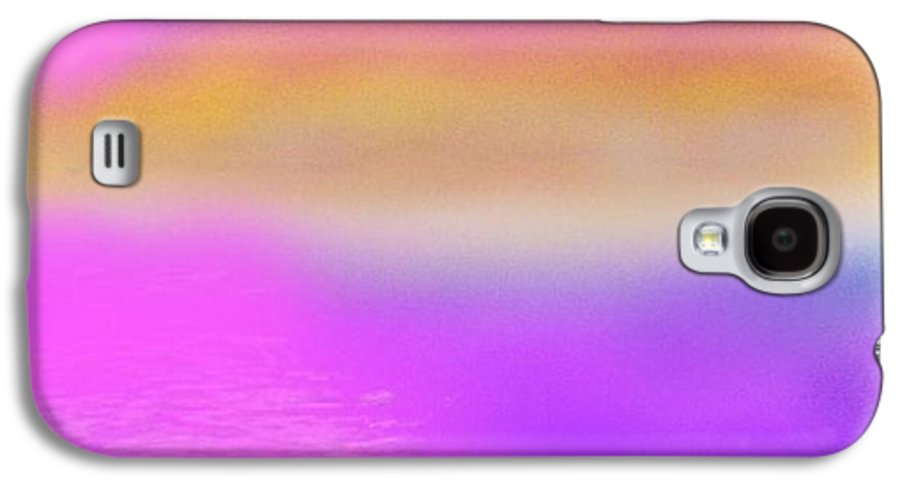 Morning.sky.sea.fog.coilors.mounts.water.reflection.sun Galaxy S4 Case featuring the digital art Dead Sea .morning by Dr Loifer Vladimir