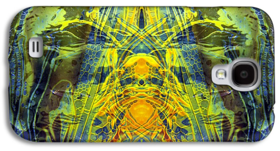Surrealism Galaxy S4 Case featuring the digital art Decalcomaniac Intersection 1 by Otto Rapp