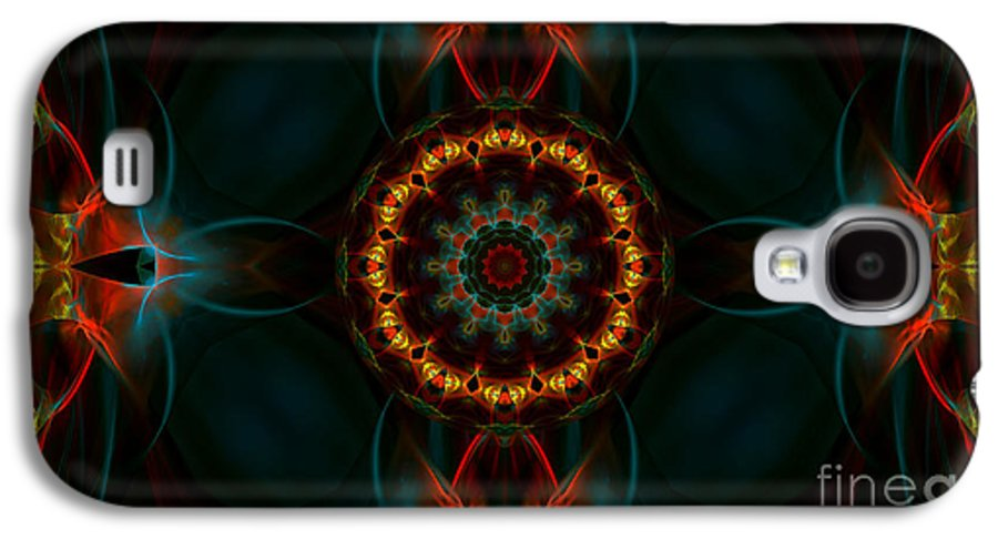 Hanza Turgul Galaxy S4 Case featuring the digital art Deep Magic by Hanza Turgul