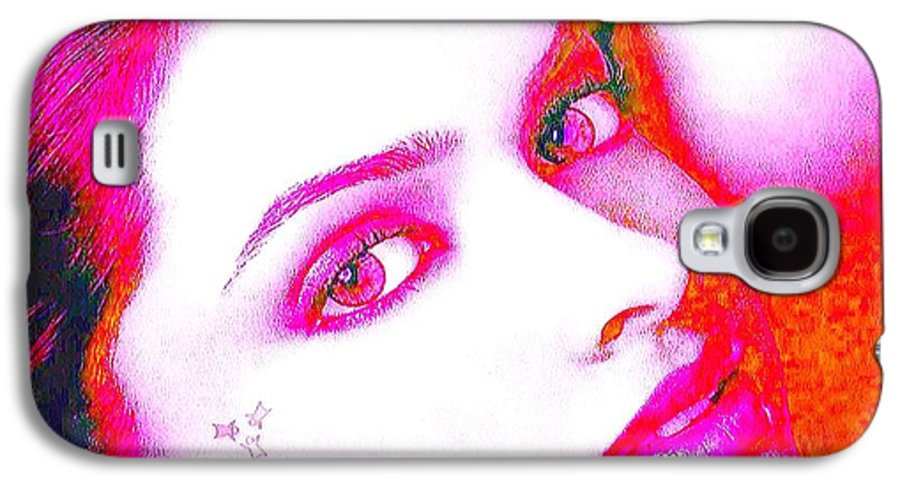 Icj Judge 445-am01-15432 C3am01-15949-deepika-padukone Oil Paintings On Canvas Commercial Art On Demand Galaxy S4 Case featuring the painting Deepika Padukone by Ricky Nathaniel
