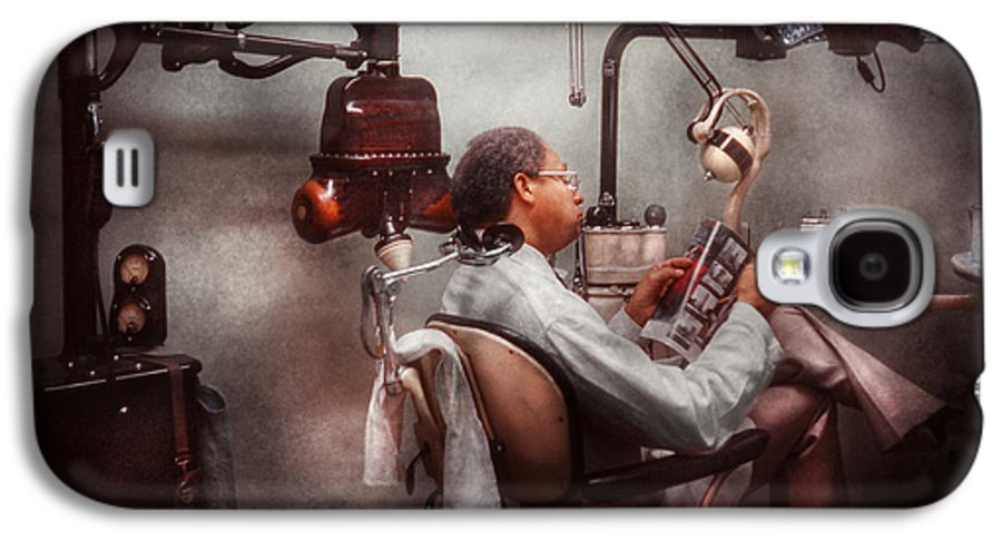Doctor Galaxy S4 Case featuring the photograph Dentist - Waiting For The Dentist by Mike Savad