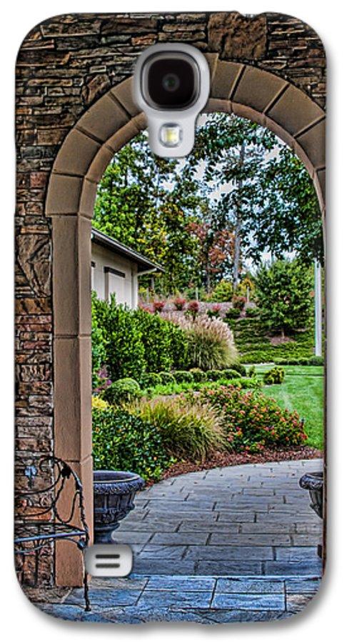 Garden Galaxy S4 Case featuring the photograph Down The Garden Path by Lara Ellis