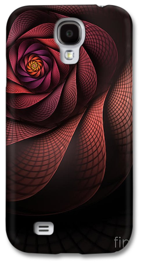 Heart Of The Dragon Galaxy S4 Case featuring the digital art Dragonheart by John Edwards