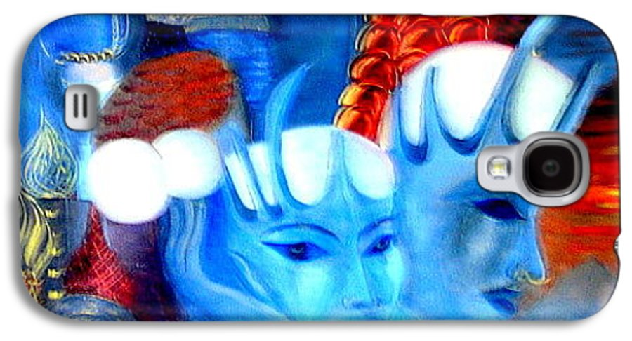 Surrealism Galaxy S4 Case featuring the painting Dreams Of Russia by Pilar Martinez-Byrne