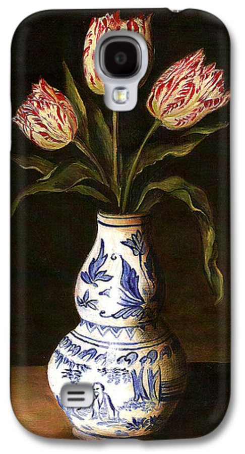 Dutch Still Life Galaxy S4 Case featuring the painting Dutch Still Life by Teresa Carter