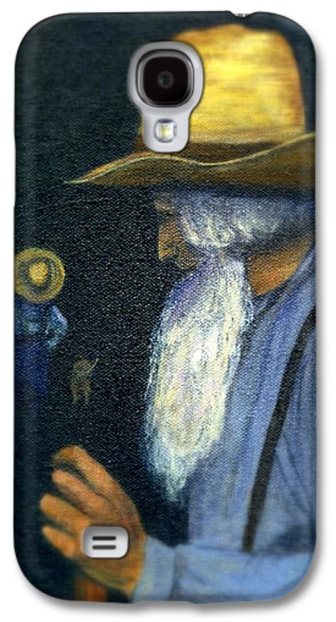 Men Galaxy S4 Case featuring the painting Eli Remembers by Gail Kirtz