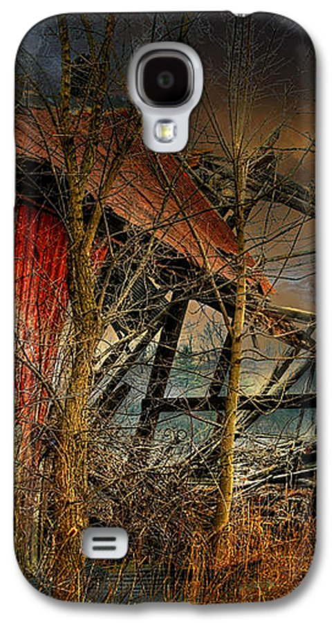 Dystopia Galaxy S4 Case featuring the photograph End Times by Lois Bryan