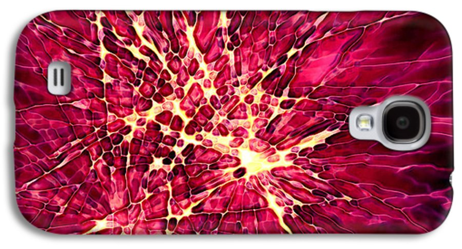 Fire Works Galaxy S4 Case featuring the digital art Explosion by Stephanie Hollingsworth