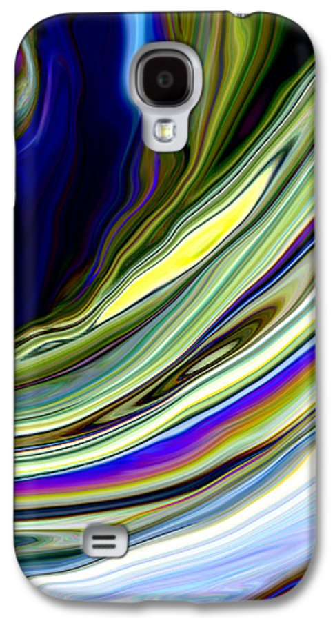 Blue Galaxy S4 Case featuring the photograph Eye Of The Storm by Linnea Tober