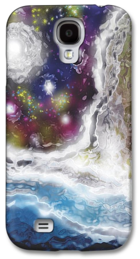 Fall Galaxy S4 Case featuring the painting Fall By The Sea by Jessie J De La Portillo