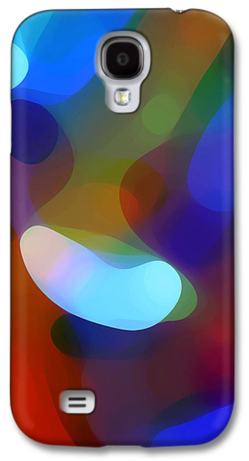 Galaxy S4 Case featuring the painting Falling Light by Amy Vangsgard