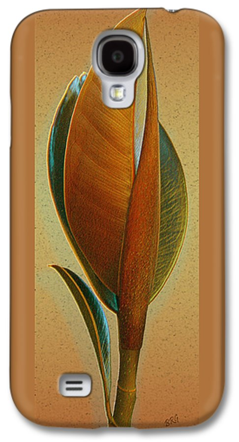 Tropical Leaf Galaxy S4 Case featuring the photograph Fantasy Leaf by Ben and Raisa Gertsberg