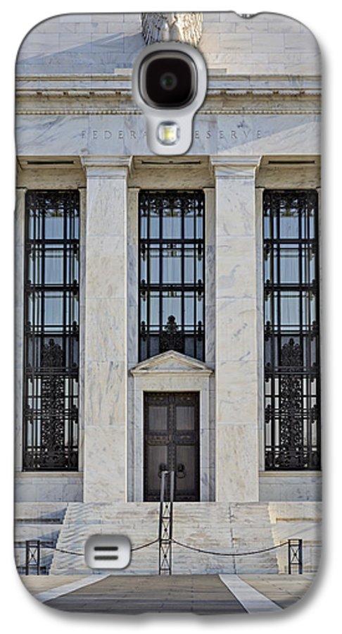 Federal Reserve Galaxy S4 Case featuring the photograph Federal Reserve by Susan Candelario