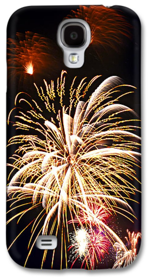 Firework Galaxy S4 Case featuring the photograph Fireworks by Elena Elisseeva