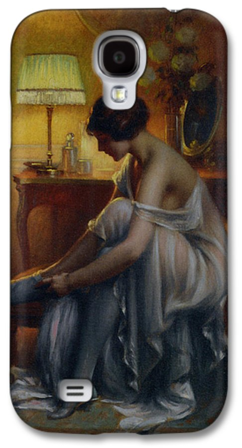 Delphin Enjolras Galaxy S4 Case featuring the digital art First Primers by Delphin Enjolras