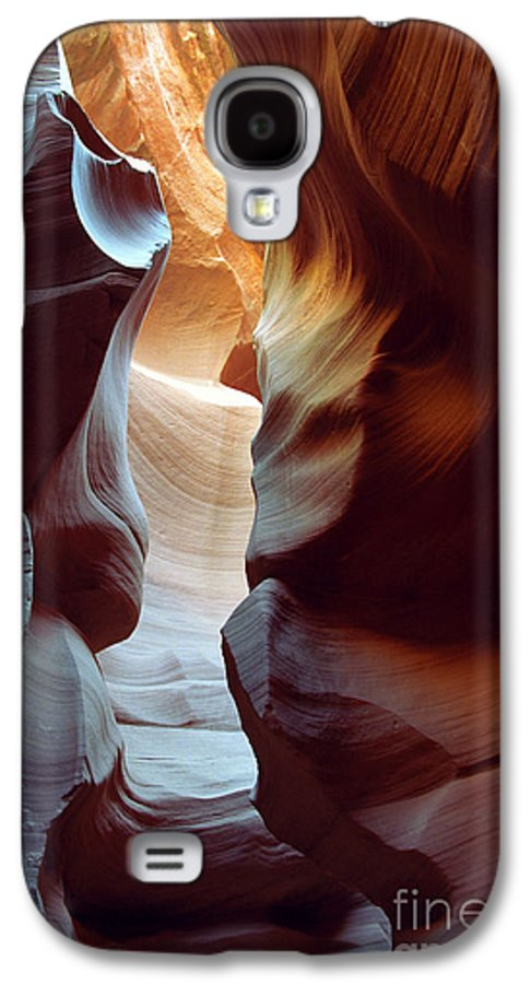Slot Canyon Galaxy S4 Case featuring the photograph Follow The Light II by Kathy McClure