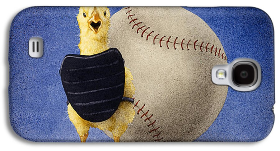 Will Bullas Galaxy S4 Case featuring the painting Fowl Ball... by Will Bullas