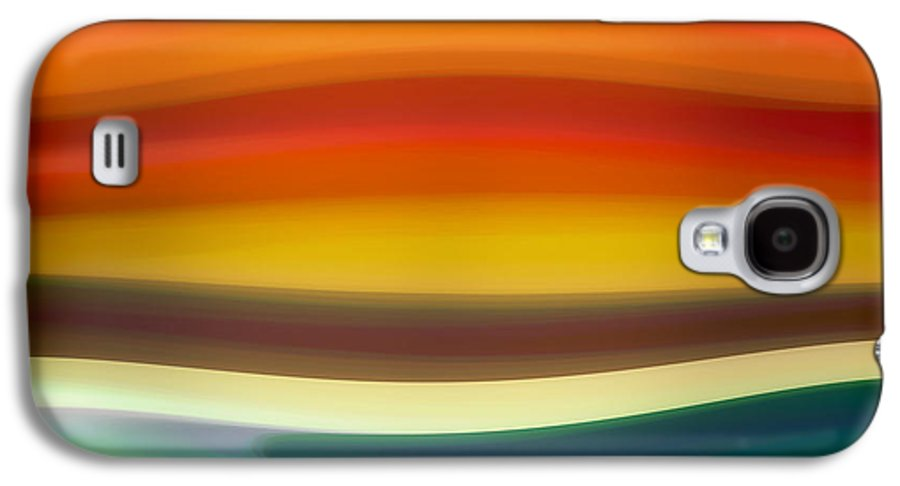 Fury Galaxy S4 Case featuring the painting Fury Sea 1 by Amy Vangsgard