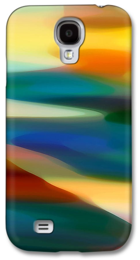 Bold Galaxy S4 Case featuring the painting Fury Seascape 1 by Amy Vangsgard