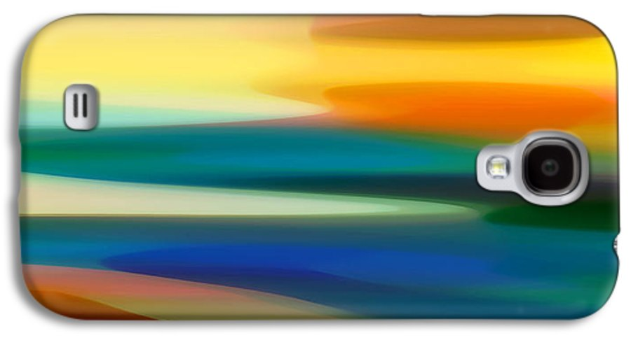 Fury Galaxy S4 Case featuring the painting Fury Seascape II by Amy Vangsgard