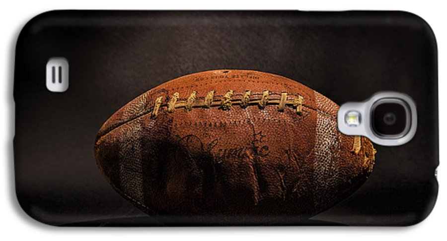 Antique Galaxy S4 Case featuring the photograph Game Ball by Peter Tellone